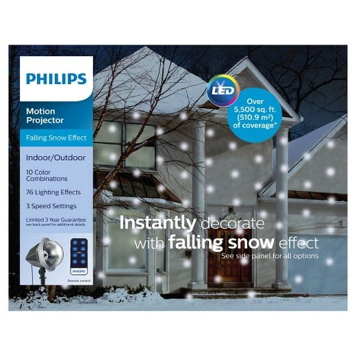 Target:  40% off Philips Christmas LED Light Projector
