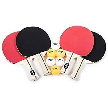 STIGA Performance 4-Player Table Tennis Racket Set  $20
