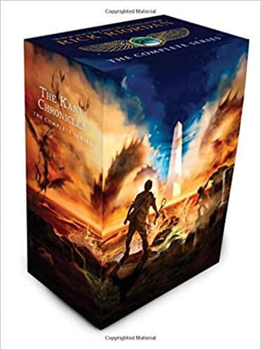 The Kane Chronicles: The Complete Series [Paperback Boxset] by Rick Riordan $10.71