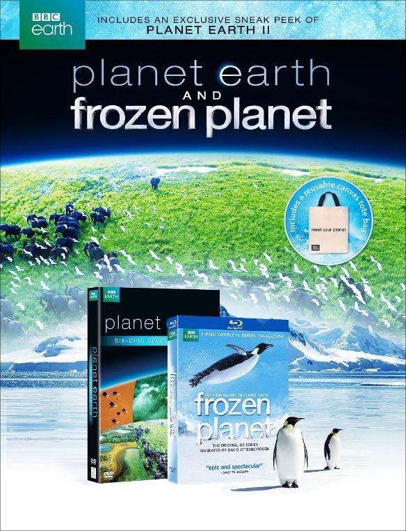 Planet Earth Gift Set: Planet Earth/Frozen Planet [Blu-ray/DVD]  $20