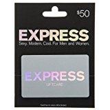 Express $50 gift card  $40