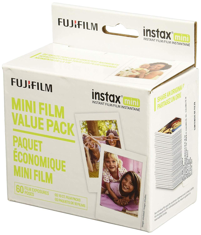Fujifilm Instax Mini Instant Film Value Pack - (60 Total Pictures)  $30