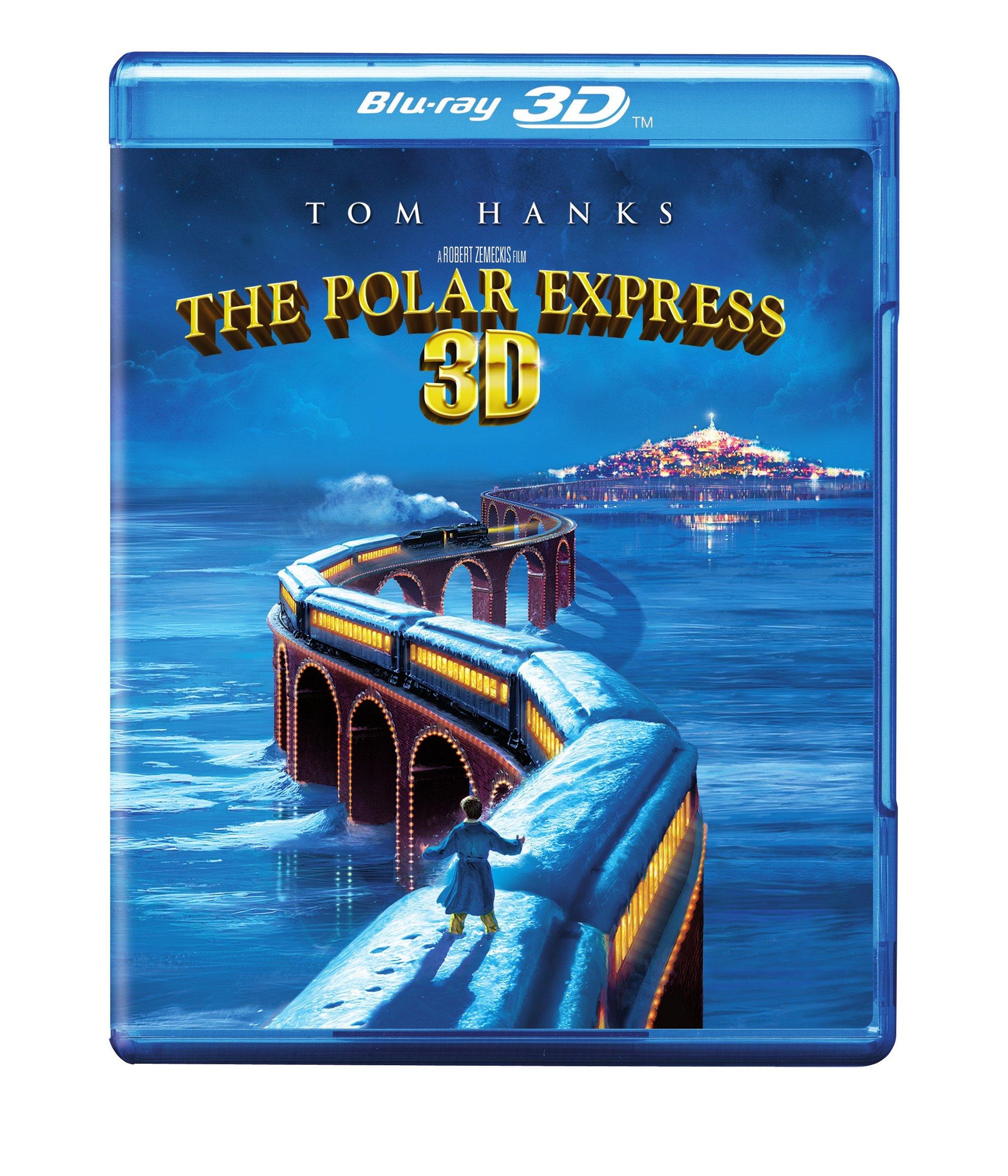 The Polar Express (Single Disc Blu-ray 3D/Blu-ray Combo)  $6.99 @Amazon
