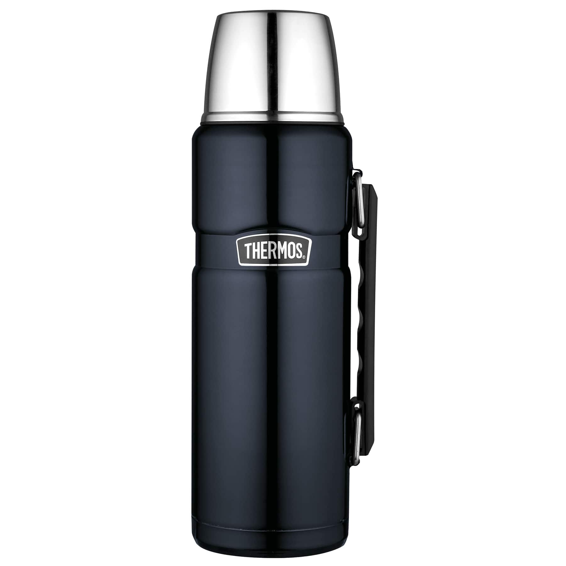 Thermos Stainless King 40 Ounce Beverage Bottle, Midnight Blue  $19.84