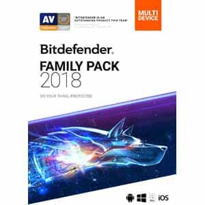 Bitdefender Family Pack 2018 UNLIMITED Devices 2 YEARS [frys.com e-delivery/pack] - $39.99