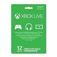 Amazon Deal: Xbox Live Gold Membership Card (Online Game Code) Amazon 39.99 FS with prime