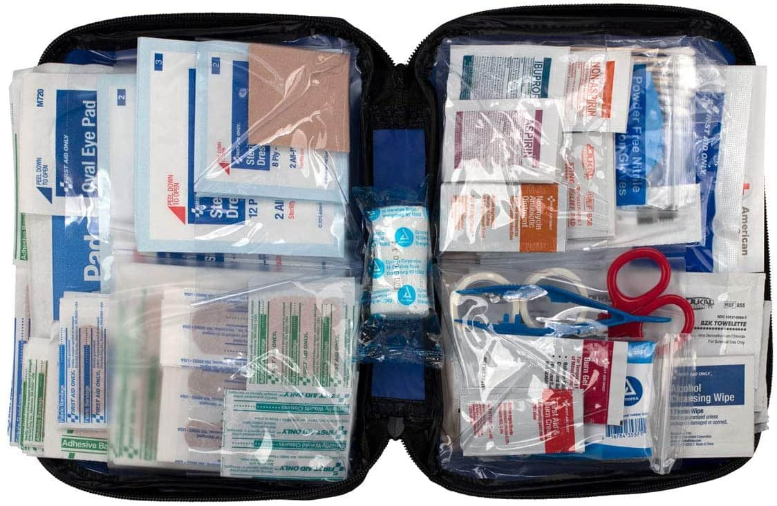 299-Piece First Aid Only All-Purpose First Aid Kit w/ Soft Case $9.50