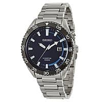 Shnoop Deal: Seiko SKA623 Men's Core Collection Kinetic Power Blue Dial Stainless Steel Watch $95 + Free Shipping *New Price Drop Fri 3/27*