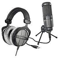 Adorama Deal: Beyerdynamic DT-990 Headphones + AT2020USB+ Mic