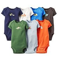 Kohls Deal: Kohl's Cardholders: 14-pack Carter's Infant Bodysuits