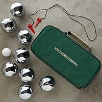 Bocce Ball - Stainless Steel Set from Williams Sonoma $7.96 plus tax and shipping