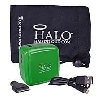 iTechDeals Deal: Halo 3000mAh PowerBank Cube & Wall/Car Charger (Green) $7 + Free Shipping