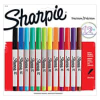 Office Depot and OfficeMax Deal: 12-Pack Sharpie Permanent Ultra-Fine Point Markers (Assorted)