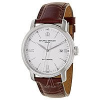 Ashford Deal: Baume and Mercier Men's Classima Executives Swiss Automatic Stainless Steel Watch w/ Alligator Strap $999 + Free Shipping