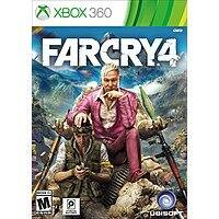 GameFly Deal: Used Game Sale: Far Cry 4 (Xbox One or PS4) $13, (Xbox 360 or PS3)