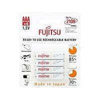 Newegg Deal: 4-Pack Fujitsu AAA Ni-MH Pre-Charged Rechargeable Batteries