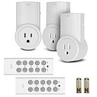 Amazon Deal: 3-Pack Etekcity Wireless Remote Control Outlet Light Switch