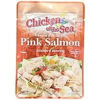 Amazon Deal: 12-Pk Chicken of the Sea Skinless & Boneless Pink Salmon (2.5-oz Pouches)