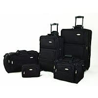BuyDig Deal: Samsonite Luggage: 4-Piece Lightweight Set $135, 5-Piece Travel Set