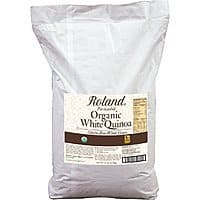Amazon Prime: Roland Foods Organic White Quinoa 25 Pound for $22.09. Ships in 1-2 months