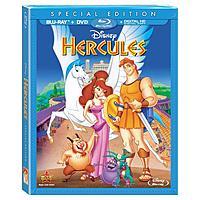 Disney Movie Rewards Members: Hercules (3D + Blu-ray + DVD)  1325 DMR Points & More