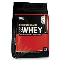 8-lbs Optimum Nutrition Gold 100% Whey Protein (Chocolate or Vanilla)