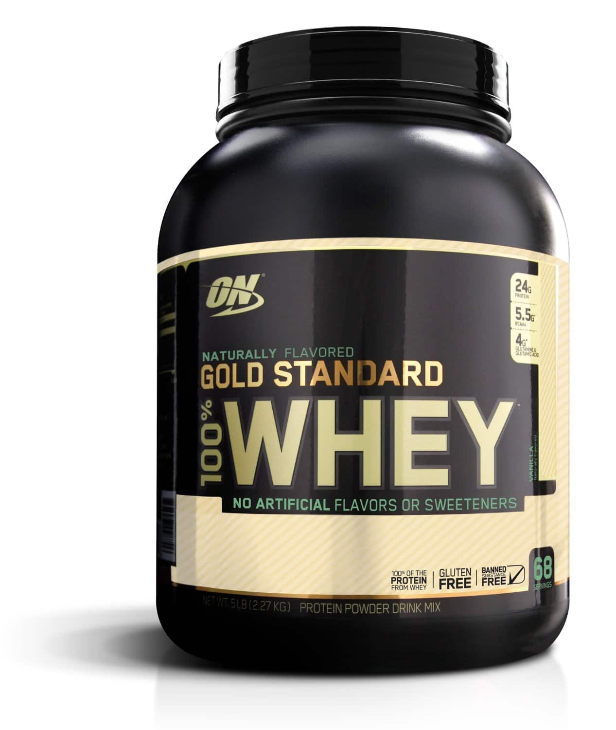 Optimum Nutrition Coupon: $10 off $40: 4.8lb Whey (various)  $48 & More + Free Shipping