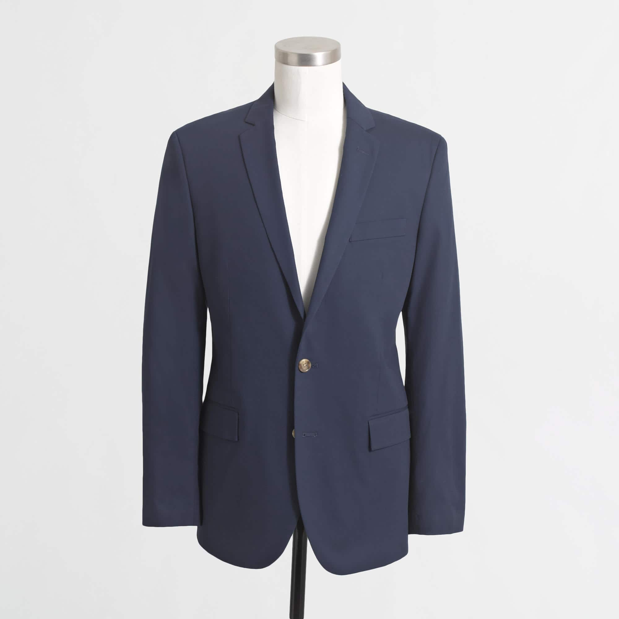 J. Crew Factory Suits - 40% plus additional 44% off with Gilt City & coupons.com + Free Shipping