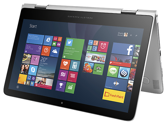 "HP Spectre x360 Touch Laptop: i5-5200U, 128GB SSD, 13.3"" 1080p  $800 + Free Shipping"