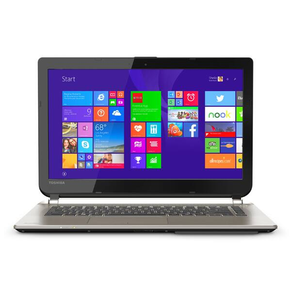 "Toshiba Satellite E45 Laptop: i5 5200U. 6GB DDR3, 14"" 1080p  $400 + Free Shipping"