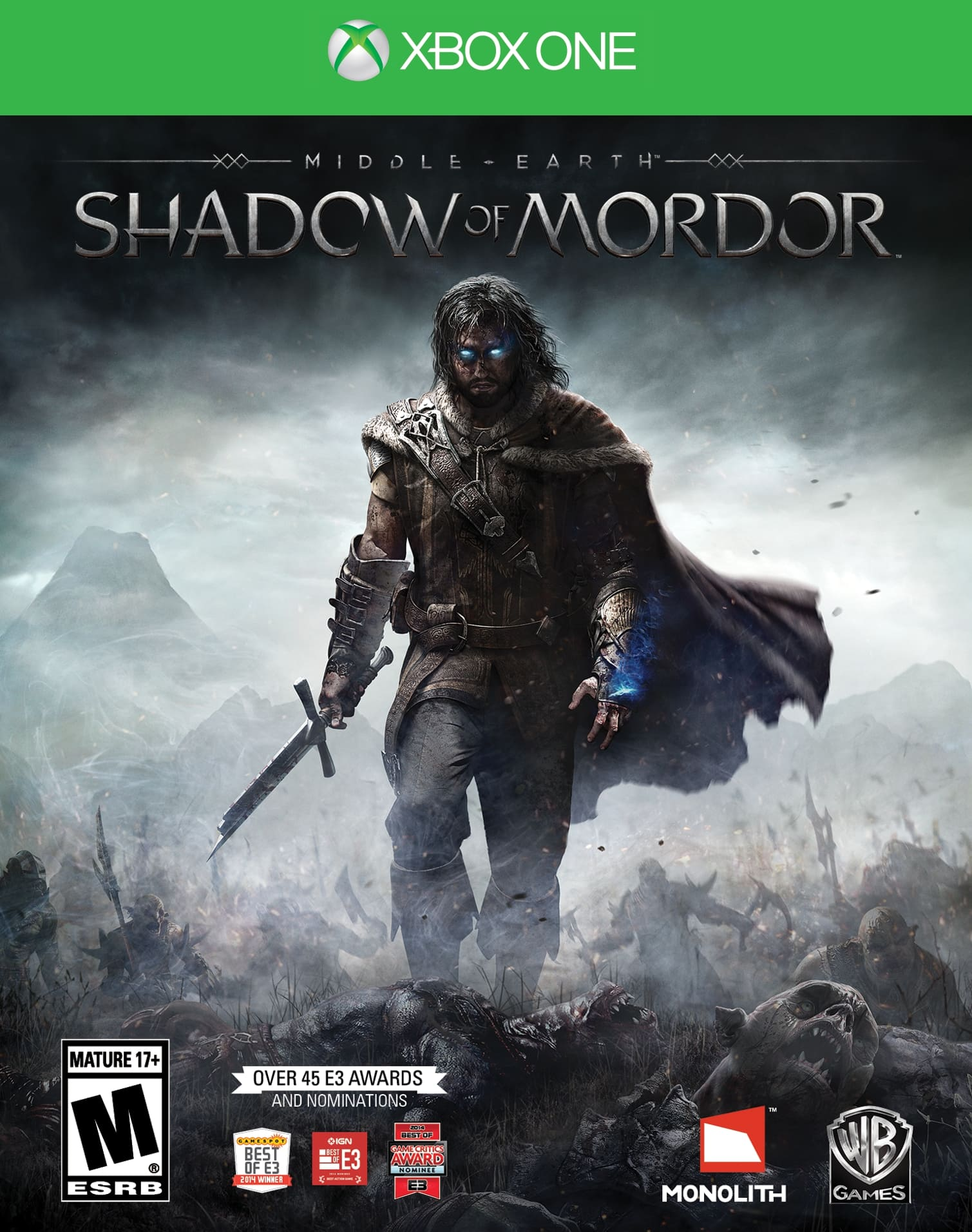 Video Games: Middle-earth: Shadow of Mordor (PS4/PS3/Xbox One/360)  $20 & More + Free Store Pickup