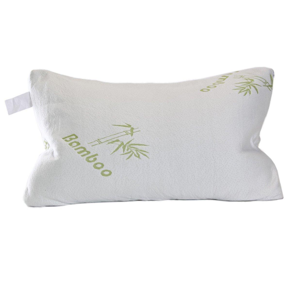 Bamboo Pillow w/ Adaptive Memory Foam: King $19, Queen  $14