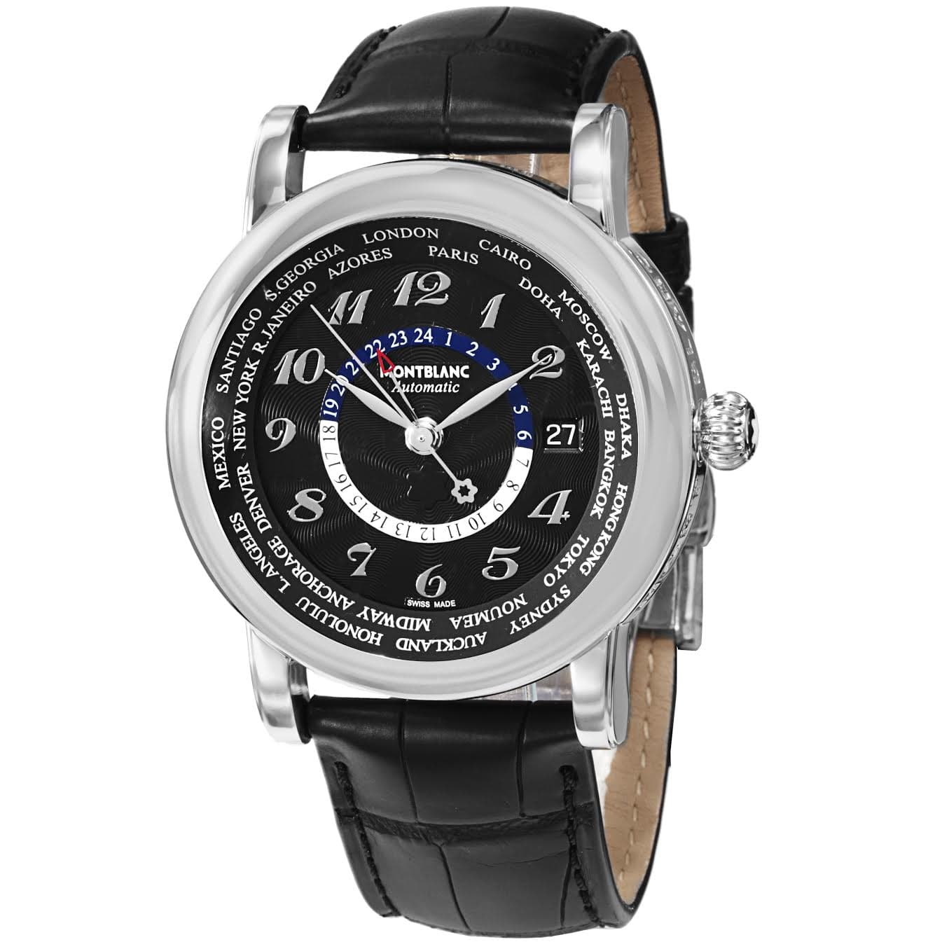 Montblanc Men's Star GMT Automatic Watch $1749 + free shipping