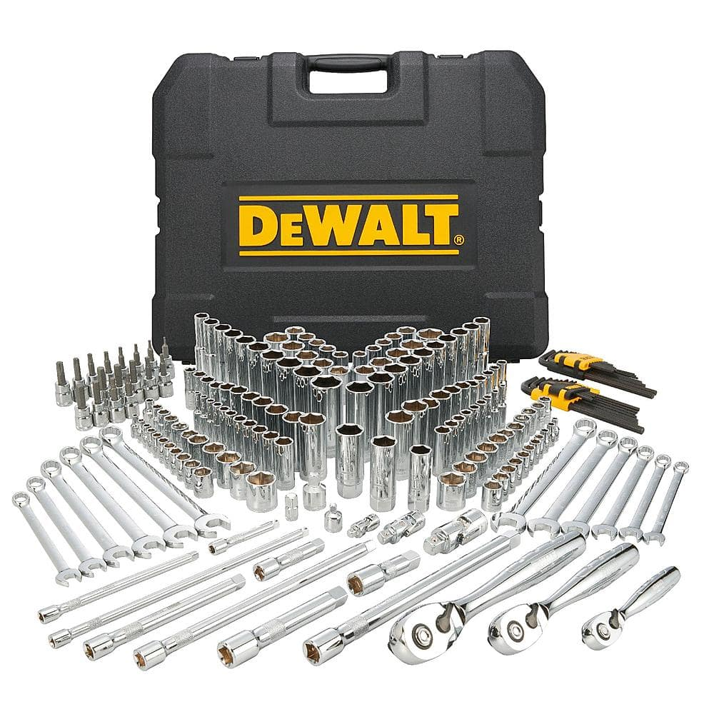 204-piece DeWalt Mechanics Tool Set  $100 + Free Shipping
