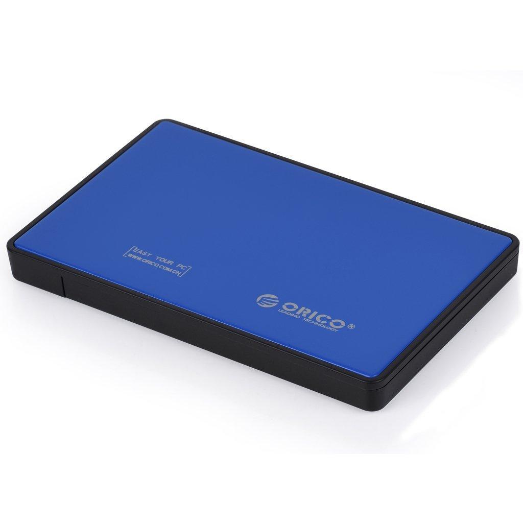 """urlhasbeenblocked 2.5"""" USB 3.0 SATA HDD/SSD Enclosure  $9"""