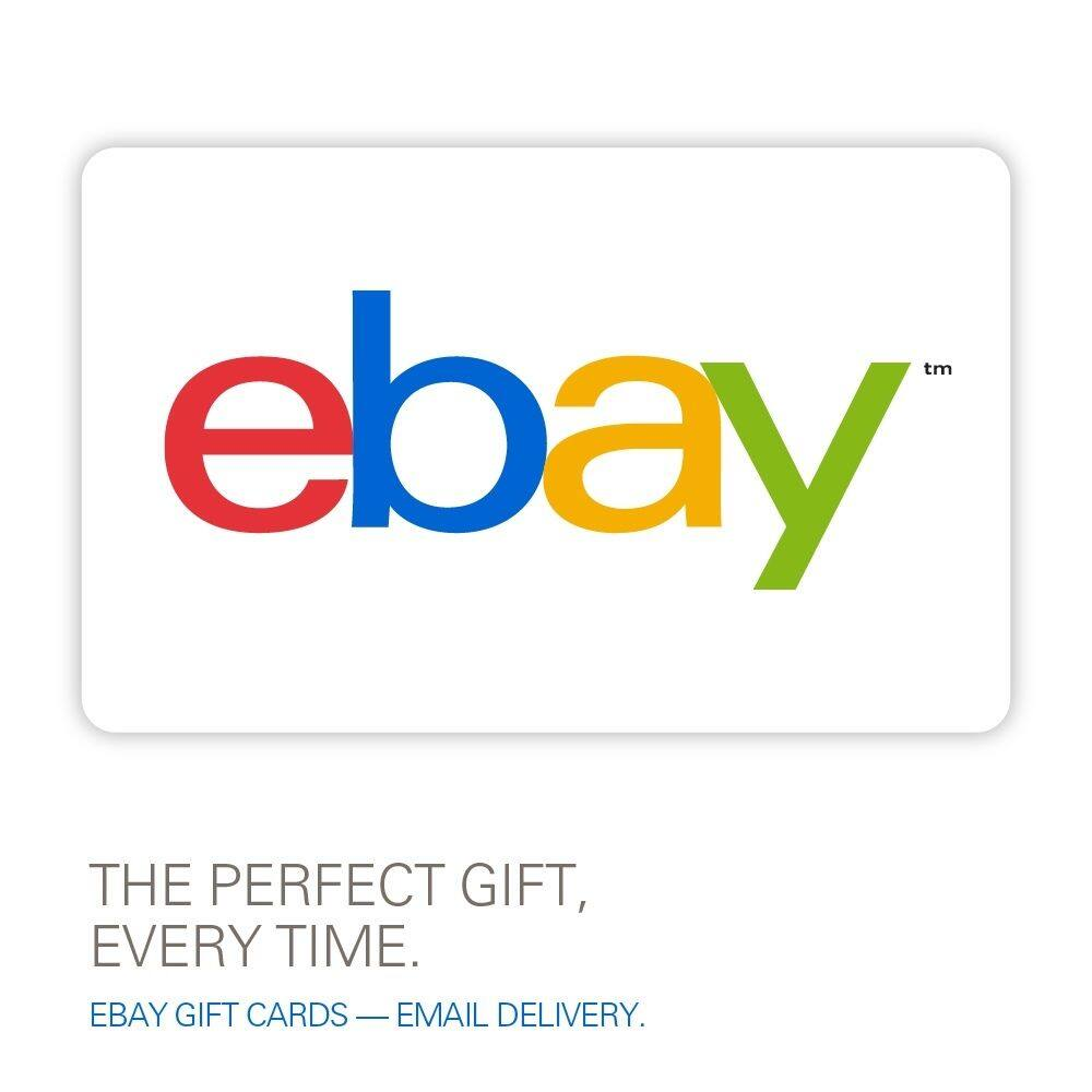 $50 eBay Gift Card (Email Delivery)  $40 & More