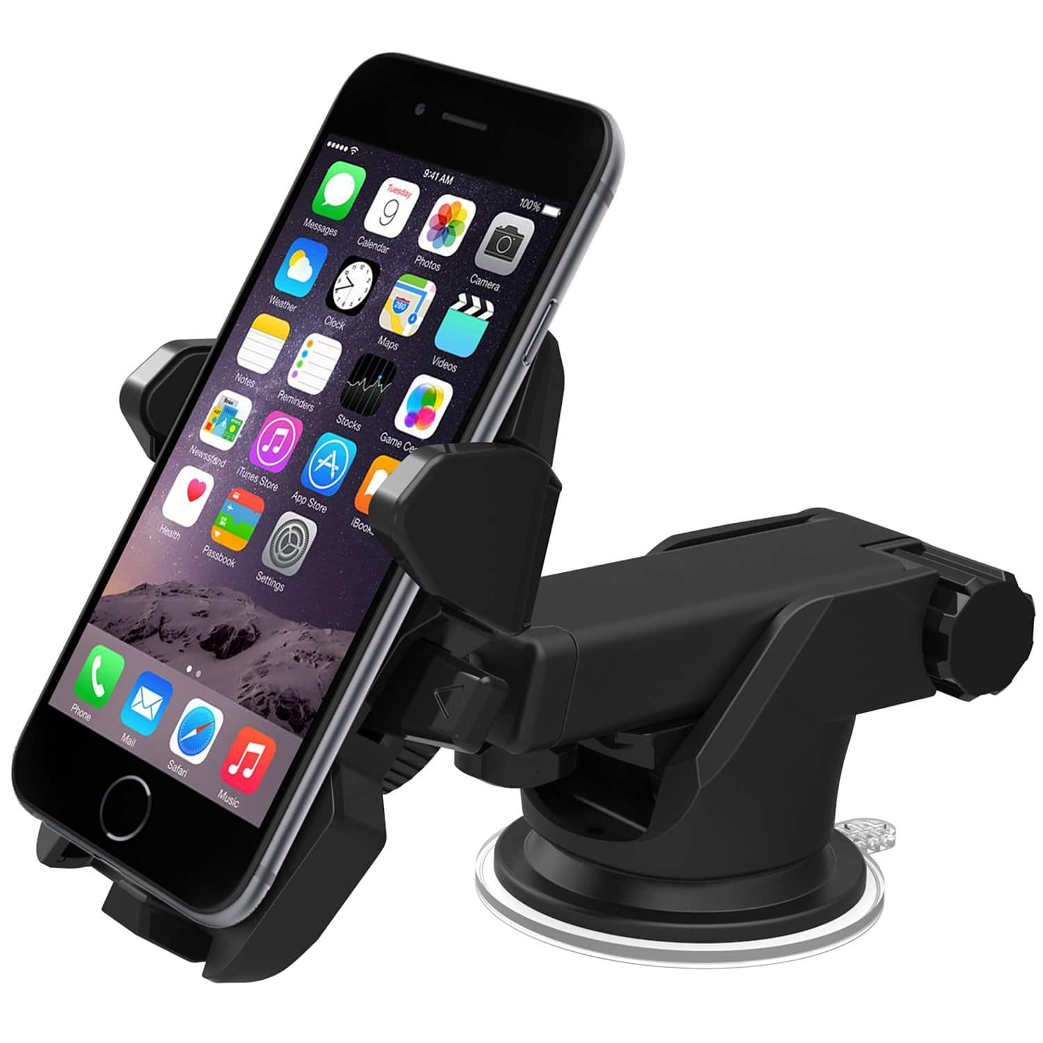 iOttie Easy One-Touch 2 Car Mount Holder for Smartphones  $8.50 + Free Shipping