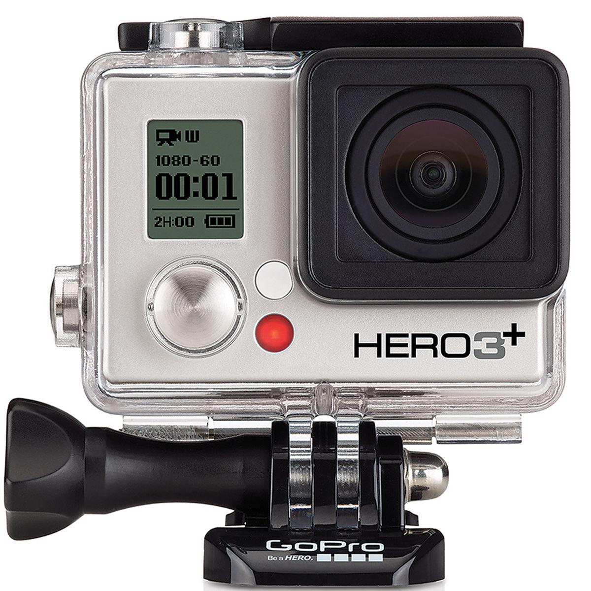 GoPro HERO3+ Silver Edition Camera Manufacturer Refurbished $180 via GoPro EBay store