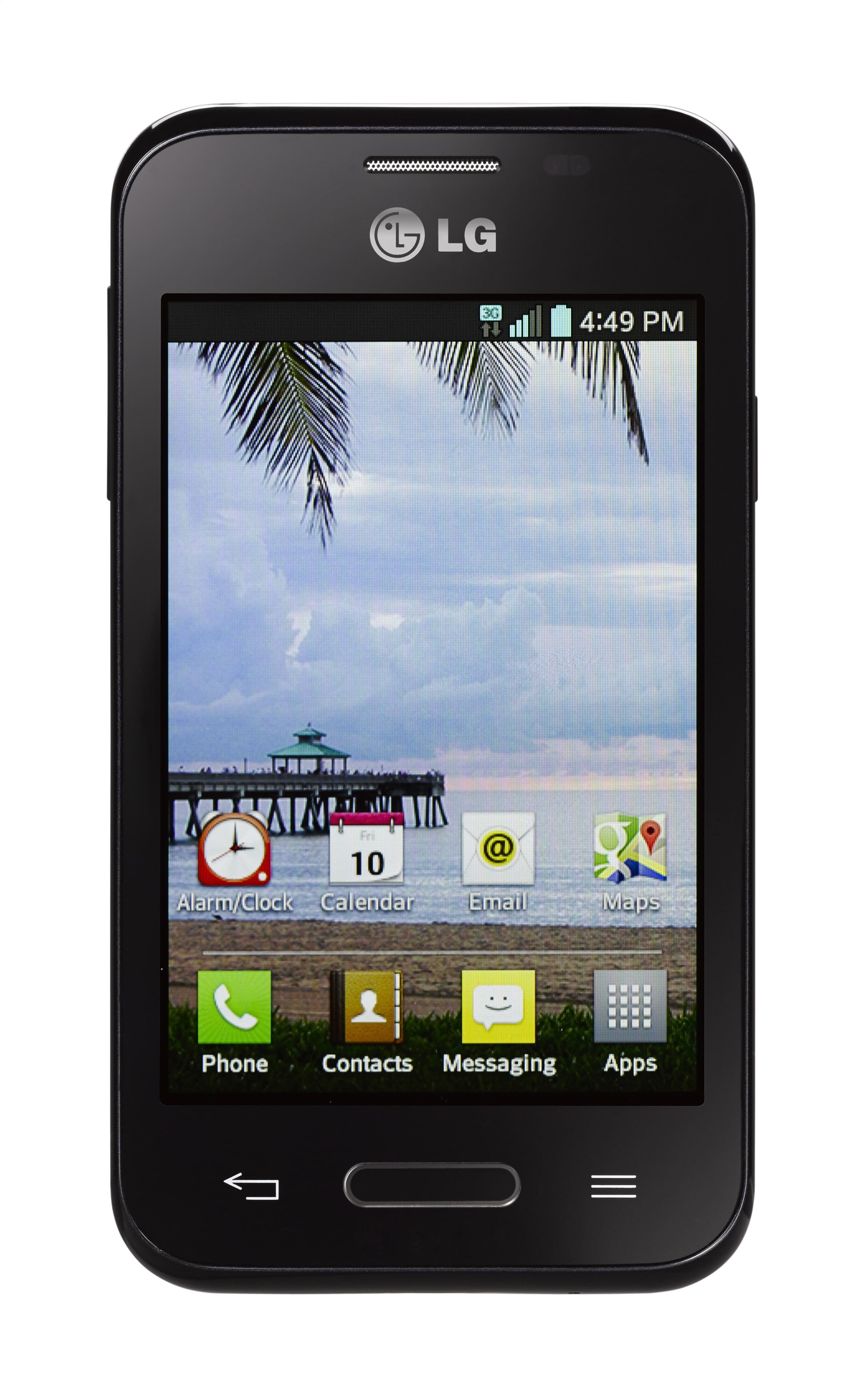 TracFone refurbished LG Optimus Fuel is back at $9.99, still free 3 day shipping on orders over $19.99
