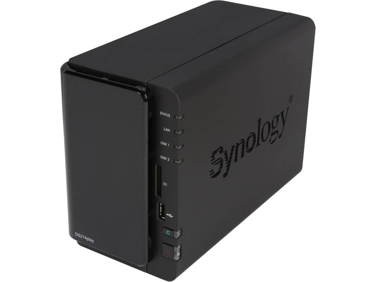 Synology DiskStation DS214play 2-bay NAS $300 or less@Neweggflash
