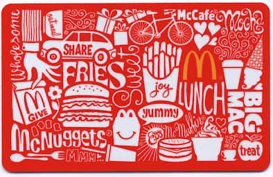$50 McDonald's Gift Card  $38 + Free Shipping