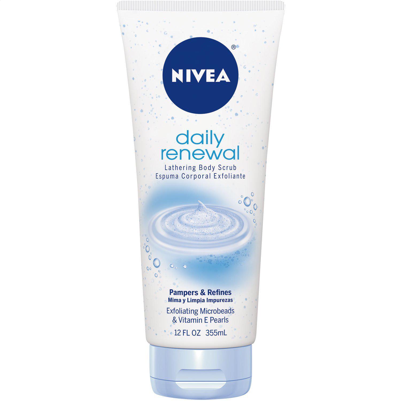 NIVEA Renewal Lathering Body Scrub, 12 Ounce $1.70 or less + free shipping