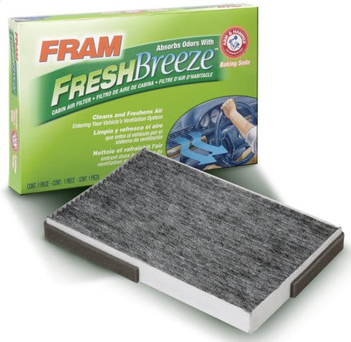 FRAM Fresh Breeze Cabin Air Filters  From $3.70 after $3 Rebate + Free S&H