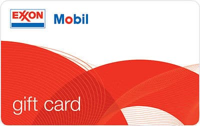 $100 ExxonMobil Gas Gift Card For $90 - Mail Delivery via USPS Ebay