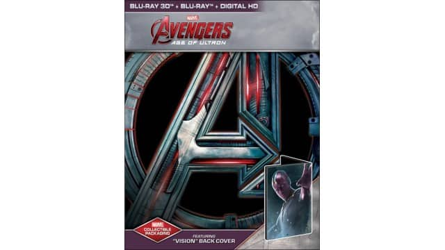 Marvel's Avengers: Age of Ultron 2-Disc BD Combo Pack (Bestbuy Exclusive Steelbook / 3D BD+BD+Digital HD) for $19.99 (deal is back!)*OOS online likely