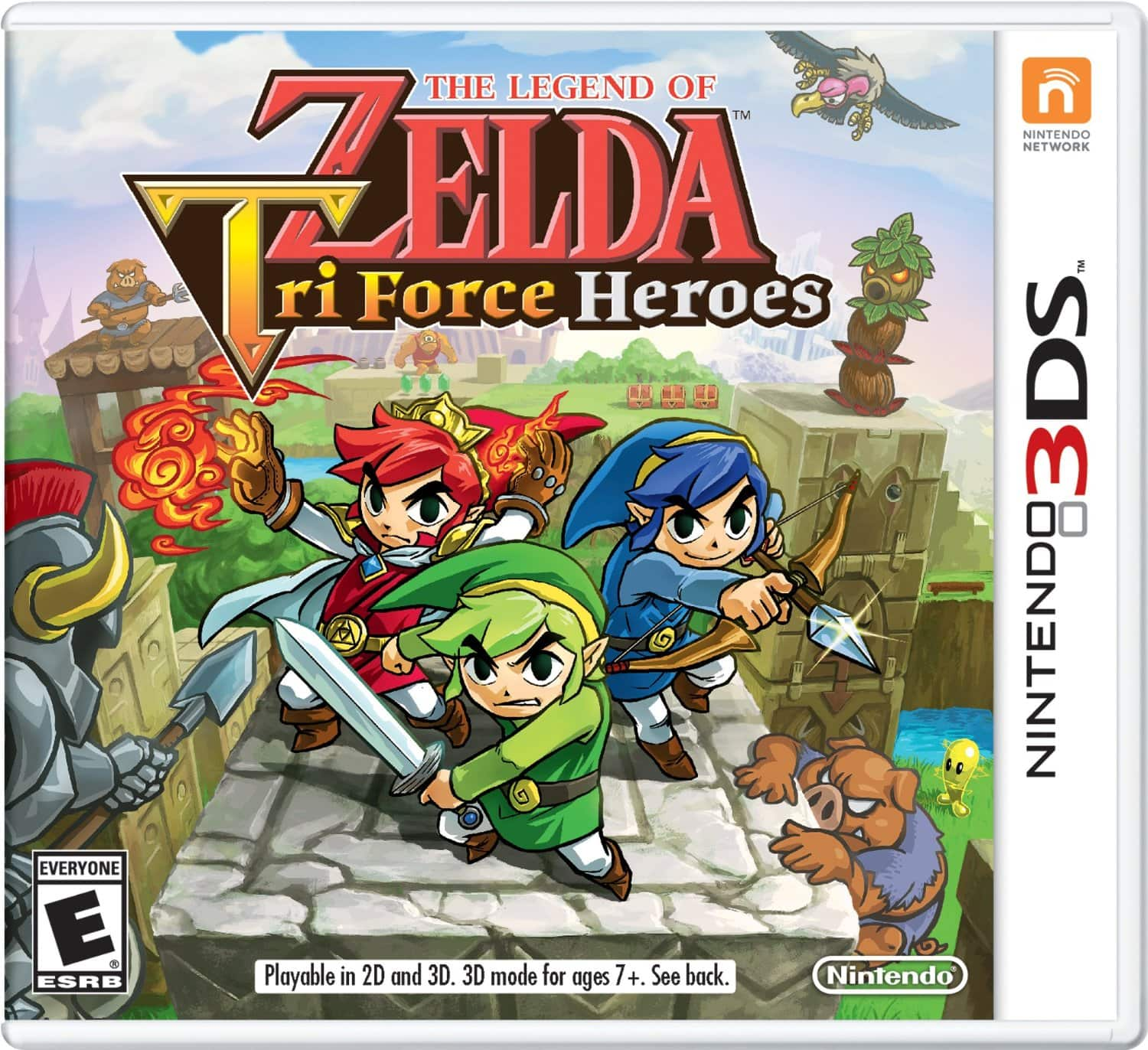 Pre-order The Legend of Zelda: TriForce Heroes - 3DS + $15+$25 Dell Promo GC's $39.99 @Dell