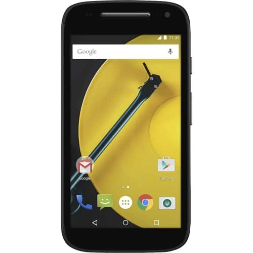 "Motorola Moto E 4.5"" AT&T GoPhone 4G LTE No-Contract Smartphone  $43 + Free Shipping"