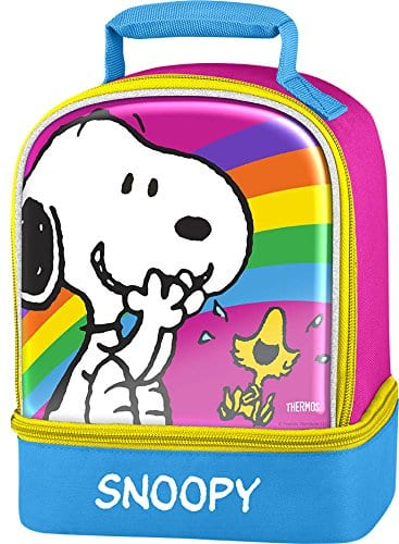 Thermos Dual Compartment Lunch Kit: My Little Pony $5.70, Peanuts  $5.35