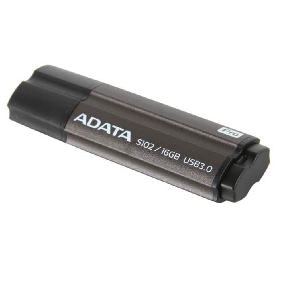 16 GB ADATA S102 Pro Advanced Gray USB 3.0 Flash Drive for $8.18 AC Shipped (or $6.39 each w/ 3 or more) @ Newegg.com