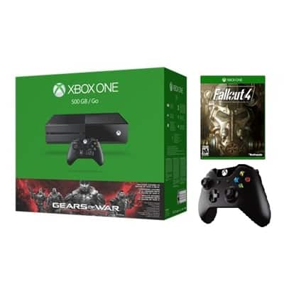 500GB Xbox One GOW: Ultimate Edition Bundle + Fallout 4 & Extra Controller  $300 + Free Shipping